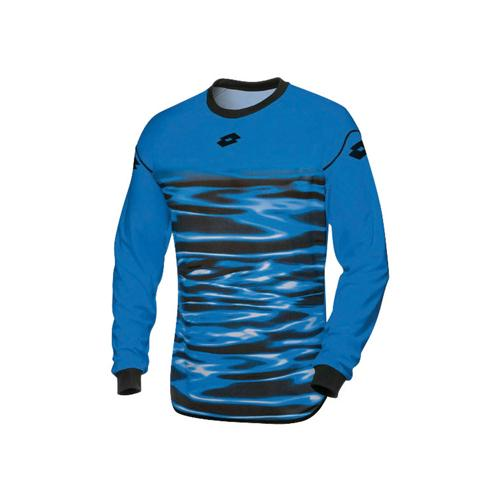 Maillot Lotto GK Cross Bleu Fluo
