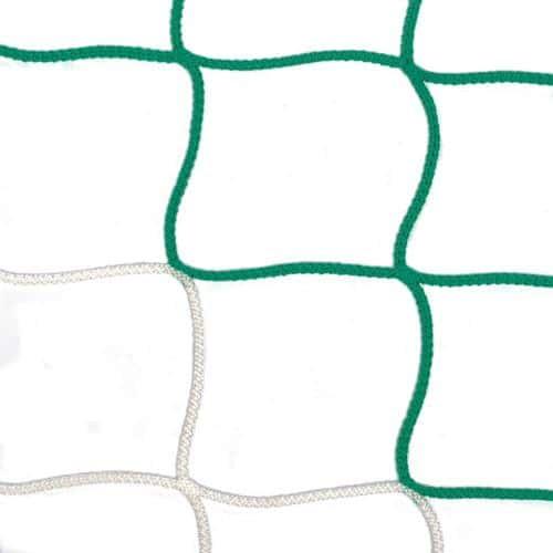 Filets pour buts minimes bicolore blanc/vert