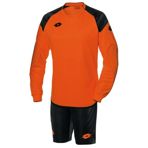 Set Maillot/Short gardien Lotto Cross Orange-Noir