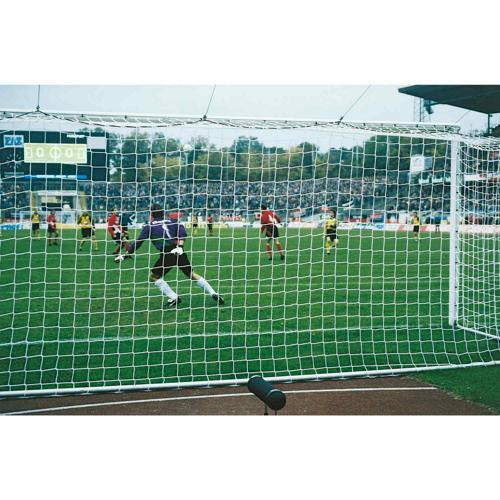 Paire de filets de buts foot à 11 - européen et biodégradables 4mm