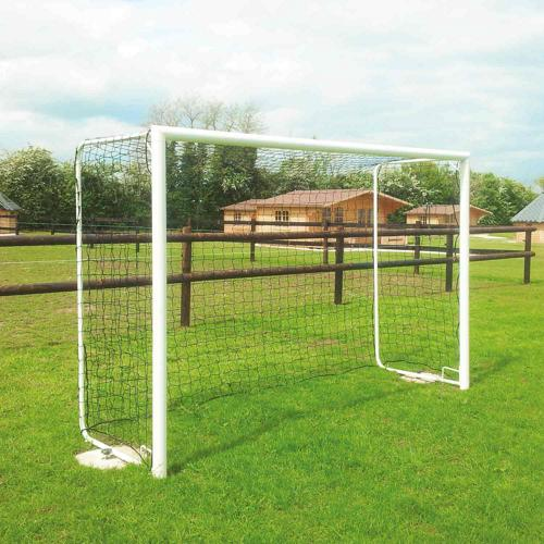 Paire de buts de foot loisirs - Metaluplast - transportable acier 3 x 2 m