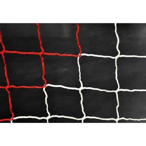 Filet de foot de stades 2 couleurs 4mm - Blanc / Rouge (l'unité)