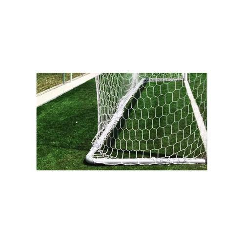 Filet de foot stade (box) hexagonale 4mm - Blanc (l'unité)