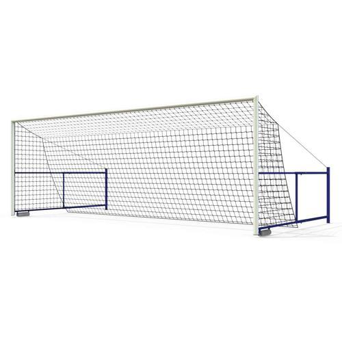 Paire de buts de foot à 8 GES - séréno rabattable en aluminium