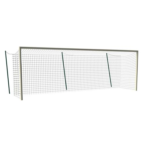 Paire de buts de foot à 11 GES - arena à sceller en aluminium ovoïde