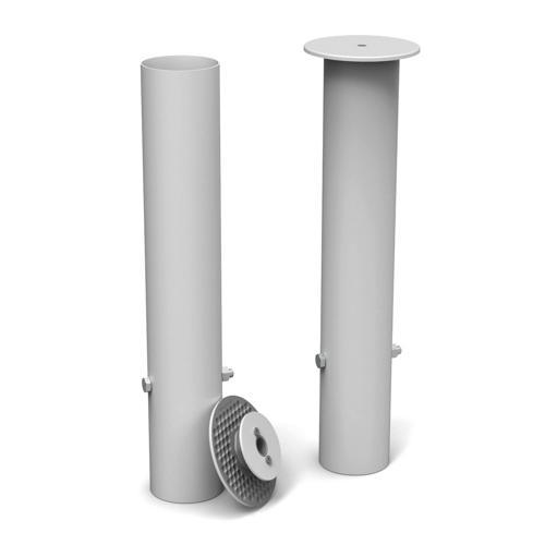 2 fourreaux de scellement GES - diamètre 80mm