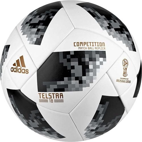 Ballon T. 5 Competition Telstar Coupe du Monde 2018 ADIDAS