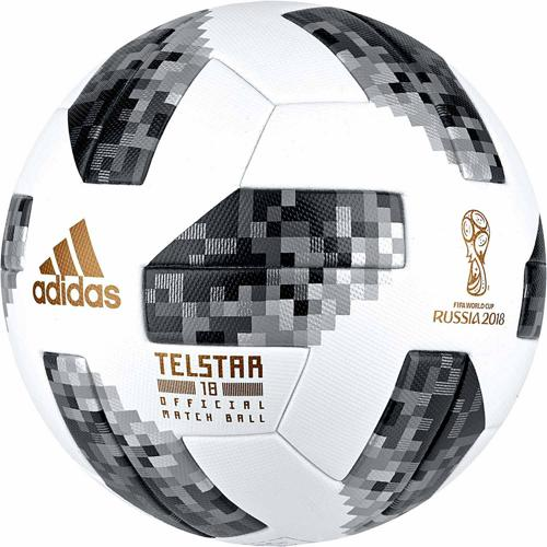 Ballon T. 5 Matchball Officiel Telstar Coupe du Monde 2018 ADIDAS