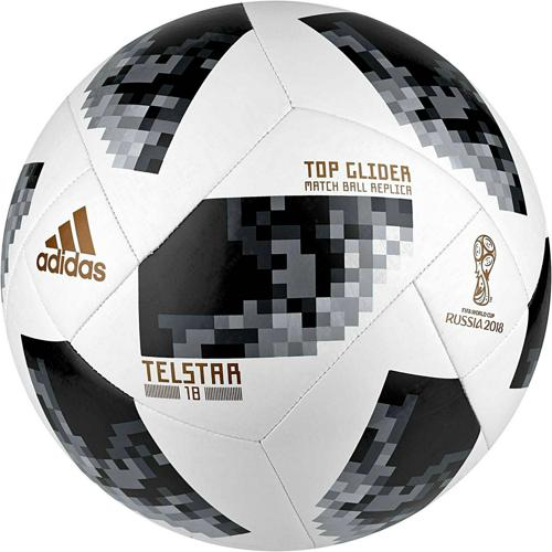 ballon t 4 top glider telstar coupe du monde 2018 adidas. Black Bedroom Furniture Sets. Home Design Ideas