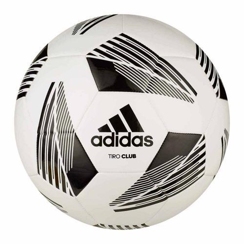 Ballon foot - adidas - Tiro Club taille 4 blanc/noir