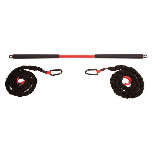 Barre de suspension et élastiques