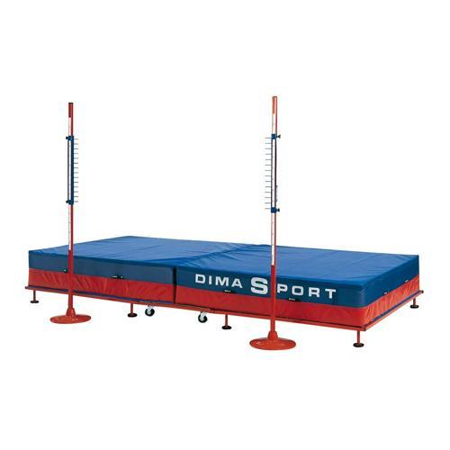 Sautoir de saut Dima repliable sur roulettes
