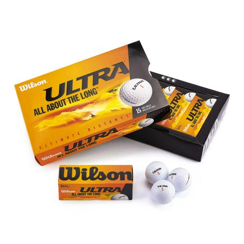 BALLES ULTRA ULTIMATE DISTANCE WILSON - LOT DE 15