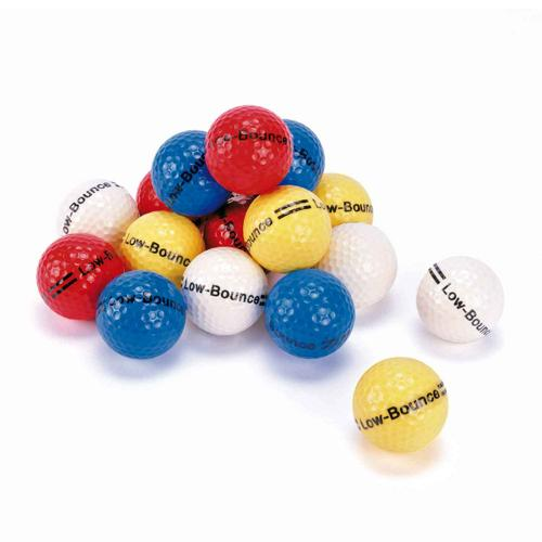 BALLES DE MINI-GOLF COLORIS ASSORTIES - LOT DE 12