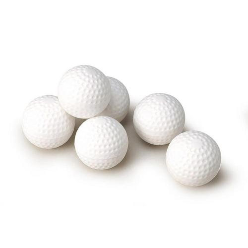 BALLES MINI GOLF BLANCHES - LOT DE 12
