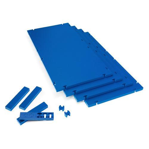 4 tapis de gymnastique 3D diffusion emboitables 200 x 100 x 4cm - Casal Sport