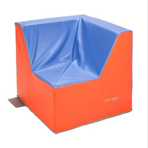 FAUTEUIL 1 PLACE D'ANGLE hauteur de l'assise : 32cm