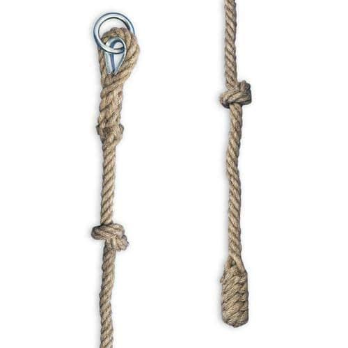 Corde à noeuds diamètre 22mm longueur 5m