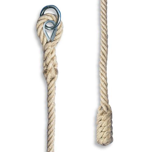 Corde à grimper lisse 6m diamètre 35mm