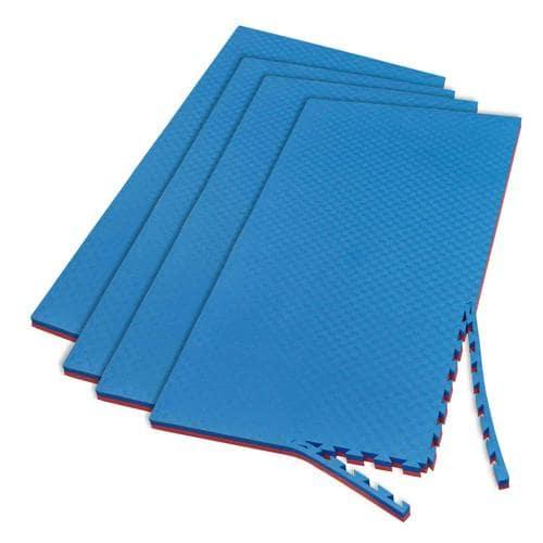 Lot de 4 tapis 200 x 100 x 4cm emboitables et réversibles Casal Sport