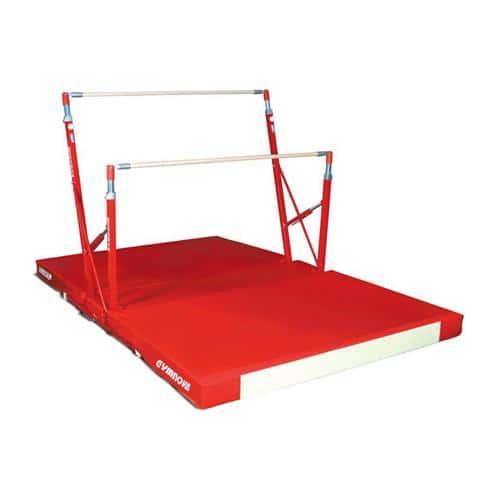 barres asym triques compact gymnova pour d butant. Black Bedroom Furniture Sets. Home Design Ideas
