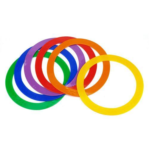 Lot de 6 anneaux en PVC souple