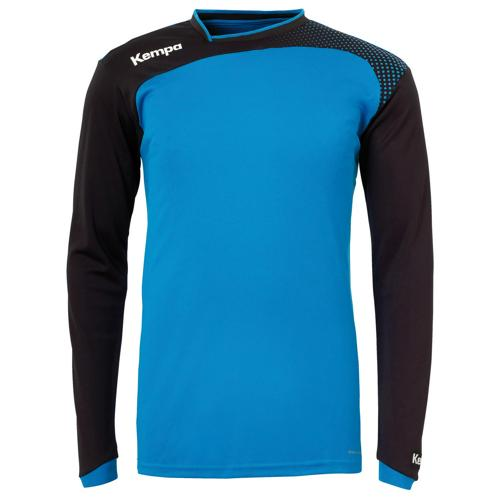 SWEAT GARDIEN EMOTION TOP BLEU- NOIR KEMPA