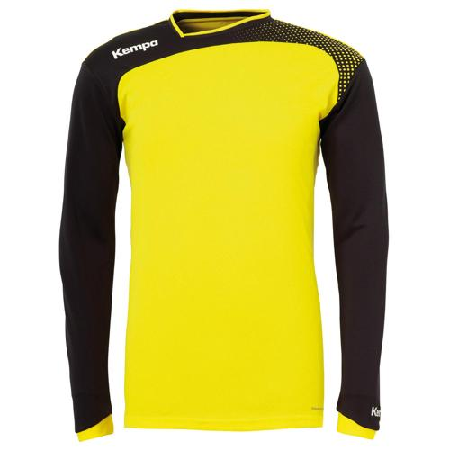 SWEAT GARDIEN EMOTION TOP JAUNE-NOIR KEMPA