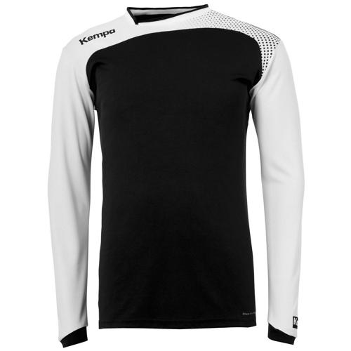 SWEAT GARDIEN EMOTION TOP NOIR-BLANC KEMPA