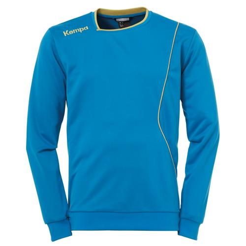Sweat Kempa Curve Training Top Bleu/Or