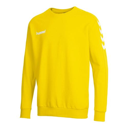 Sweat gardien Classic jaune HUMMEL