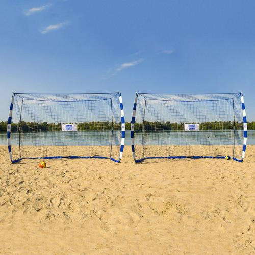 Paire de buts Sandball 3 m x 2 m QUICKFAST