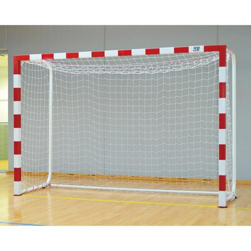 Buts de handball compétition en aluminium et arceaux renforcés GES