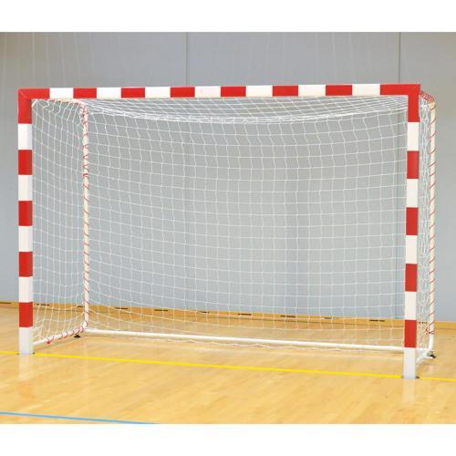 Buts de handball en acier façade monobloc avec barre de stabilisation