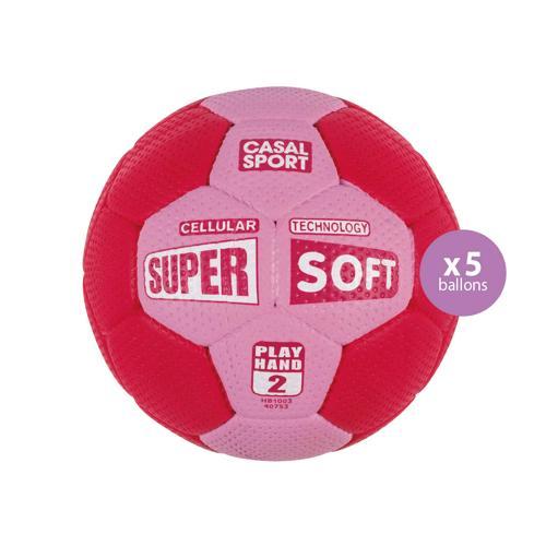 Pack de 5 ballons Super Soft Casal Sport T.2