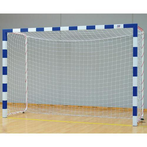 Buts de handball scellés en acier galvanisé - façade monobloc GES