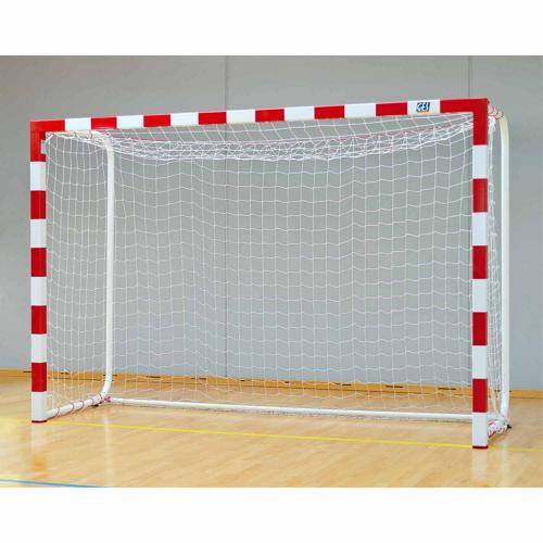 Buts de handball peints de compétition en aluminium et arceaux renforcés GES