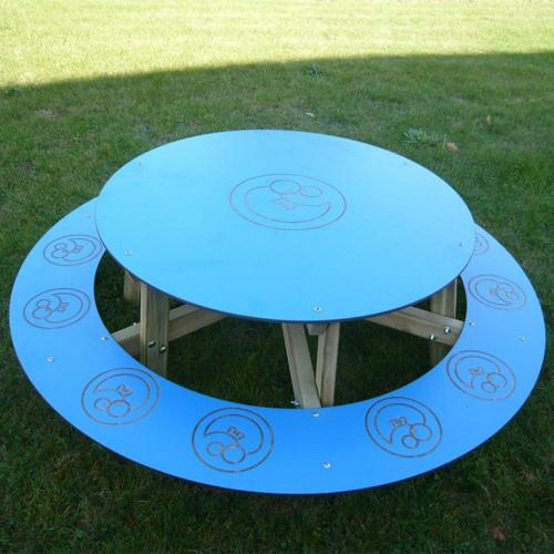 Table / banc ronde