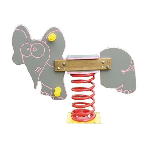 Jeu sur ressort  éléphant