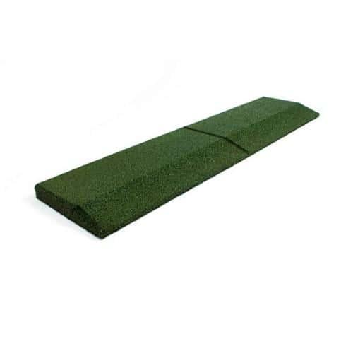 Pan coupé vert 1000 x 250 mm, épaisseur 43 mm