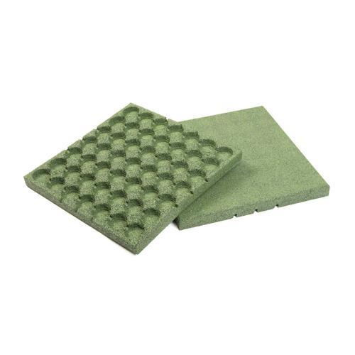 Dalle amortissante vert épaisseur 20 mm