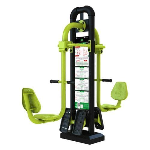 Squat machine fitness extérieur