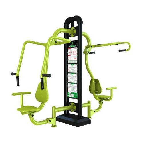 Combiné push-pull fitness extérieur