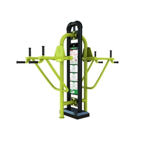 Dips - Chaise romaine triceps fitness extérieur