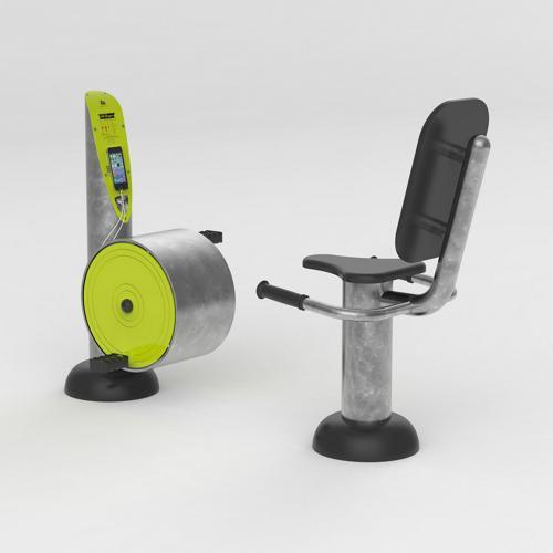 Vélo semi-allongé chargeur