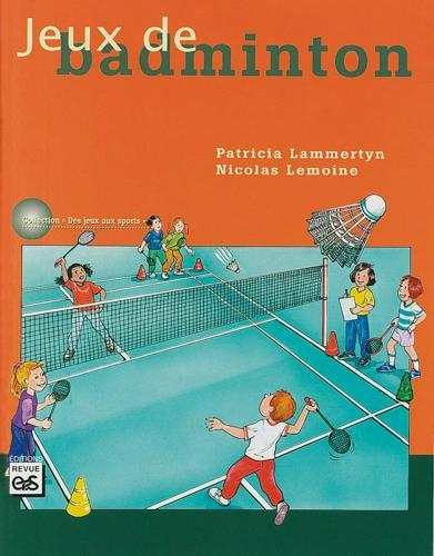 LIVRE JEUX DE BADMINTON