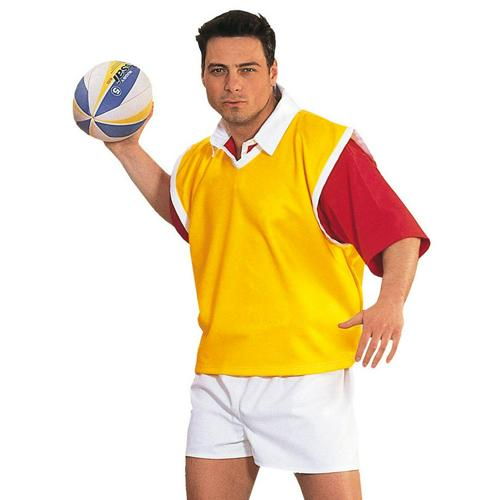Chasuble rugby jaune