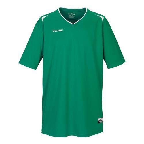 Shooting-shirt Spalding Attack kids vert / blanc