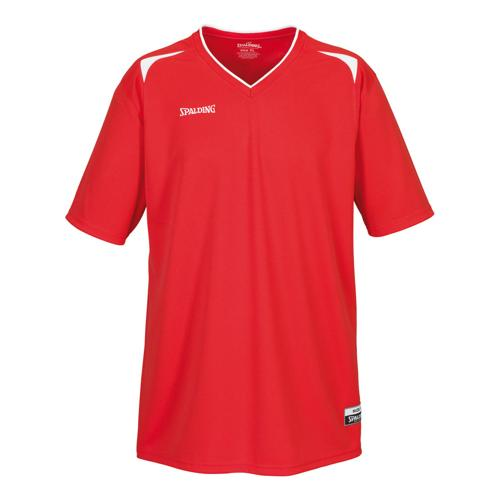 Shooting-shirt Spalding Attack adulte rouge / blanc