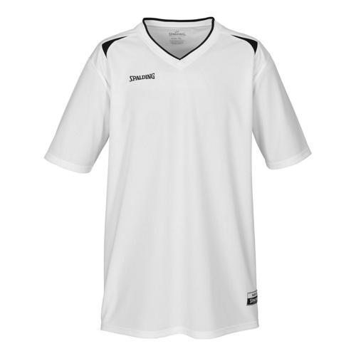Shooting-shirt Spalding Attack adulte blanc / noir